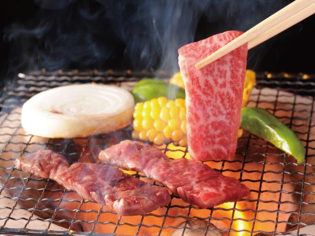 信州アルプス牛モモバラ焼肉用イメージ