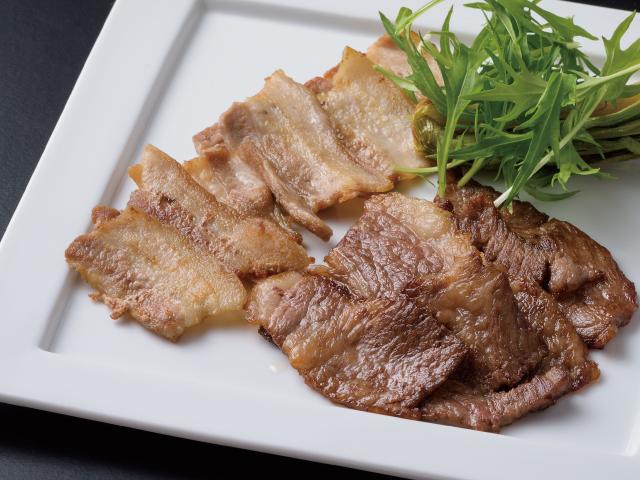 アルプス牛&オレイン豚焼肉セット
